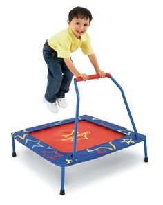 Kids and parents both love hold-on trampolines, so we set out to create the safest, sturdiest one ever!