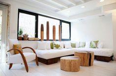 Mesas de centro DIY definidas por la creatividad