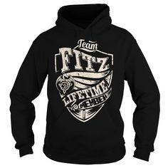 cool  Team FITZ Lifetime Member  Dragon  - Last Name  Surname T-Shirt -  Teeshirt of year