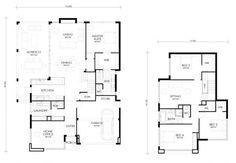 Planos casa dos pisos