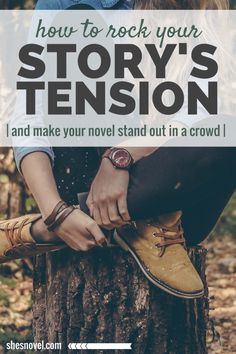 to Weave Threads of Tension Through Your Story How to Rock Your Story's Tension. Make your Story Stand Out From the Crowd. From the How to Write a Story guide series on Story Story or stories may refer to: Writing Quotes, Fiction Writing, Writing Advice, Writing Resources, Writing Help, Writing Skills, Writing A Book, Writing Ideas, Improve Writing
