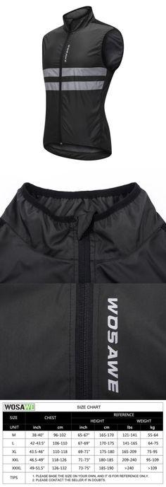 Vests 177856  Men Windproof Cycling Vest Sleeveless Gilet Bike Waistcoat  Reflective Tops Women - gt 9e7111b15
