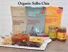 Healthy Tortilla Chips And Salsa With Organic Chia Healthy Tortilla Chips, Healthy Chips, Lunch Snacks, Easy Snacks, Healthy Snacks, Healthy Eating, Blue Corn Tortillas, Making Kale Chips, Breakfast Recipes