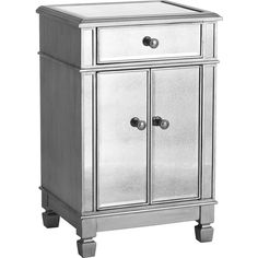 """Inspired by Hollywood glamour, yet as practical as we can make it""""our Hayworth Chest is all about functional fashion. Crafted of sturdy hardwoods, covered with..."""