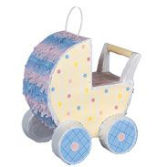 Pinata: Carriage Decorator Pinata £5.99 a great decoration or game for a baby shower, naming day or christening