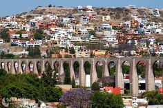 Queretaro, Mexico these are the aqueducts of queretaro I think the way I heard it they used to take water all over the city
