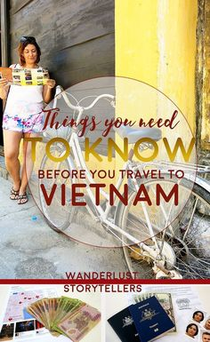 All the helpful things you should know before you travel to Vietnam!  Very handy guide :)