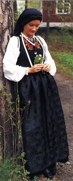FolkCostume&Embroidery: Overview of Norwegian Costumes, part The eastern heartland Norwegian Clothing, Heartland, Norway, The Row, Two By Two, Vest, Costumes, Traditional, Embroidery