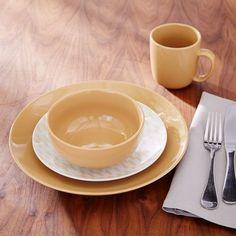 Palette Dinnerware Set - Horseradish | west elm