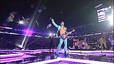 "policygal: ""Only Prince could actually make it rain purple rain while performing 'Purple Rain' at the Super Bowl. """