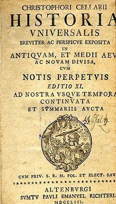 Cristóbal Cellarius - Wikipedia, la enciclopedia libre
