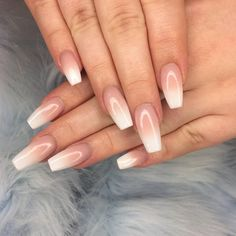 Baby boomers have taken over at NAF! Our salon expert #nafamee kills it every time with this sleek coffin shaped acrylic set, you guys can't get enough#nafsocials