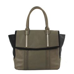 Enzo Tote Gray Black, $99, by W118 by Walter Baker !!