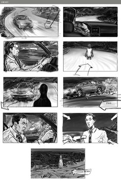 Storyboard Film, Storyboard Examples, Storyboard Drawing, Animation Storyboard, Storyboard Artist, Animation Reference, Comic Tutorial, Graphic Novel Art, Color Script