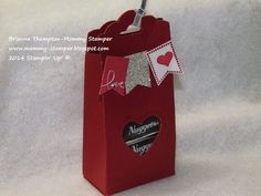 Stampin' Up! Tag Topper Treat Box - YouTube
