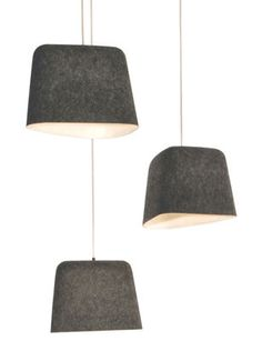 Felt Shade Pendelleuchte von Tom Dixon, auf Made in Design