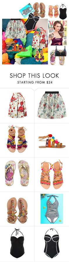 """Hello summer :D"" by fatima-bojic ❤ liked on Polyvore featuring Dolce&Gabbana, Raoul, Elina Linardaki, Laidback London, New Look and Cactus"