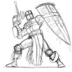 #Paintball #knight #mascot #drawing #sketch #war @procreateapp