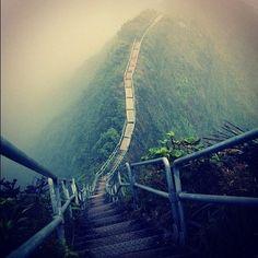 Stairway to heaven, Ohau, Hawaii