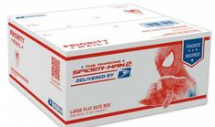 #USPS- #FREE #Spider #Man #Flat #Rate #Shipping #Boxes!