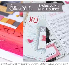 Mini Courses are coming to Elle's Studio for those who want extra inspiration with their kits every month!
