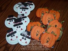Craft Fair Ideas for Halloween and Christmas by Sandy Murphy - Cards and Paper Crafts at Splitcoaststampers