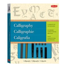 This complete kit makes it easy to start exploring the exciting art form of calligraphy because it comes with everything a beginning artist needs—from a set of high-quality materials to comprehensive instructions.