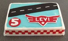Airplanes themed cake is ready for your Favorite Disney Airplane character by www.dkscakes.com