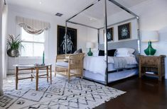 Rugs – Home Decor :     stunning bedroom design with colorful and unexpected accents    -Read More –