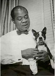 Louis Armstrong and the General #celebrities #pets #Dogs