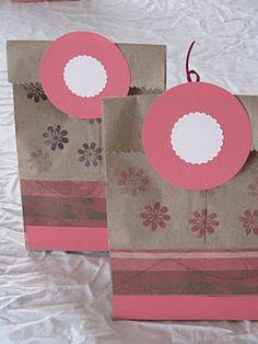 DIY gift bag tutorial