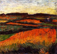Landscape with Small Wood Alexei Jawlensky - circa 1905
