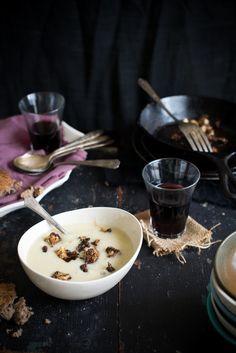 Spiced Cauliflower Soup © Dina Avila
