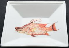 """Artist Kim Rody's colorful deep sea fish image """"Behold the Mighty Hog"""""""