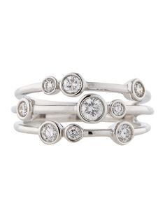 Diamond Cluster Ring - Fine Jewelry - FJR21417 | The RealReal