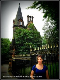 """Glasgow, Scotland is full of unusual architecture. Find out more at """"Down the Wrabbit Hole - The Travel Bucket List"""". Click the image for the blog post."""