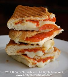 Mozzarella & Pepperoni Panini