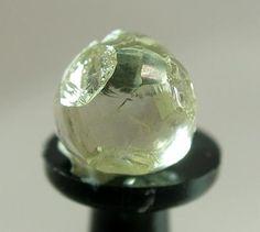 Cuboctahedral Diamond (rare form) 1.42 carats / Premier Mine, Pretoria, Gauteng Province, South Africa