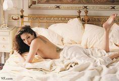 Angelina Jolie photograph by Annie Leibovitz