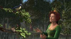 Princess Fiona singing to the blue bird Shrek, Princesa Fiona, Shark Tale, Fairytale Art, Bird Art, Dreamworks, Blue Bird, Fairy Tales, Singing