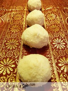 Mishti at your engagement to celebrate!Pranhara - Heart captivating, luxurious, authentic Bengali sweets made of fresh ricotta Bangladeshi Food, Bengali Food, Bangladeshi Recipes, Indian Desserts, Indian Sweets, Halal Recipes, Indian Food Recipes, Candy Recipes, Dessert Recipes