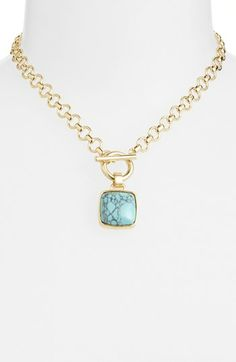 Anne Klein Pendant Necklace | Nordstrom