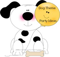 Check out these dog theme birthday party ideas for a tail waggin' good time! Find ideas for invitations, dog party decorations, games, favors and more.