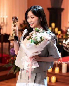 Hyun Soo, Pent House, Actors & Actresses, Kdrama, Bae, Ruffle Blouse, Kpop, Dresses, Women