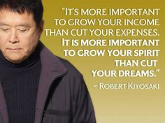 Rich Dad Poor Dad Quotes Prepossessing Size Of Your Success Is Measuredyour Desire To Live Frugally