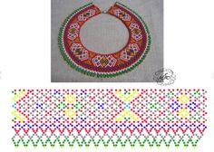 Diy Necklace Patterns, Jewelry Patterns, Beading Patterns Free, Beading Tutorials, Costume Jewelry Crafts, Beaded Collar, Handmade Beads, Beaded Flowers, Bead Weaving