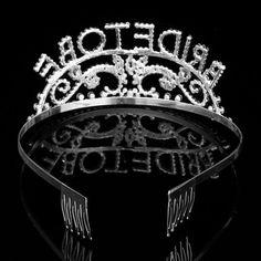 Wedding Headband Bachelorette Sparkle Tiara Hen Party Crown Bride Bridal Shower Supply is cheap, see other hair accessories on NewChic. Wedding Favors, Wedding Events, Wedding Decorations, Wedding Headband, Flower Brooch, Headpiece, Bridal Shower, Sparkle, Hair Accessories