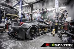 Baddest Ferrari 458 Italia on the planet with Armytrix Titanium F1 ver. Valvetronic exhaust by Liberty walk LB Performance!