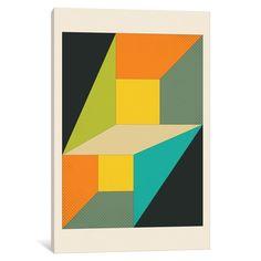 iCanvas 'Deja Vu' by Jazzberry Canvas Print