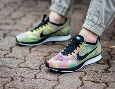 finest selection b0ff3 a6716 Flyknit Racer Multicolor, Trainers, Zara, Running Shoes, Nike Trainers,  Tennis, Sports, Shopping, Sweatshirt